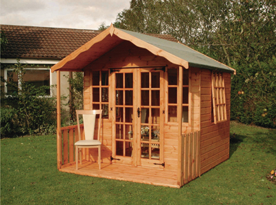 how to build a summer house frame